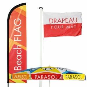 drapeau publicitaire