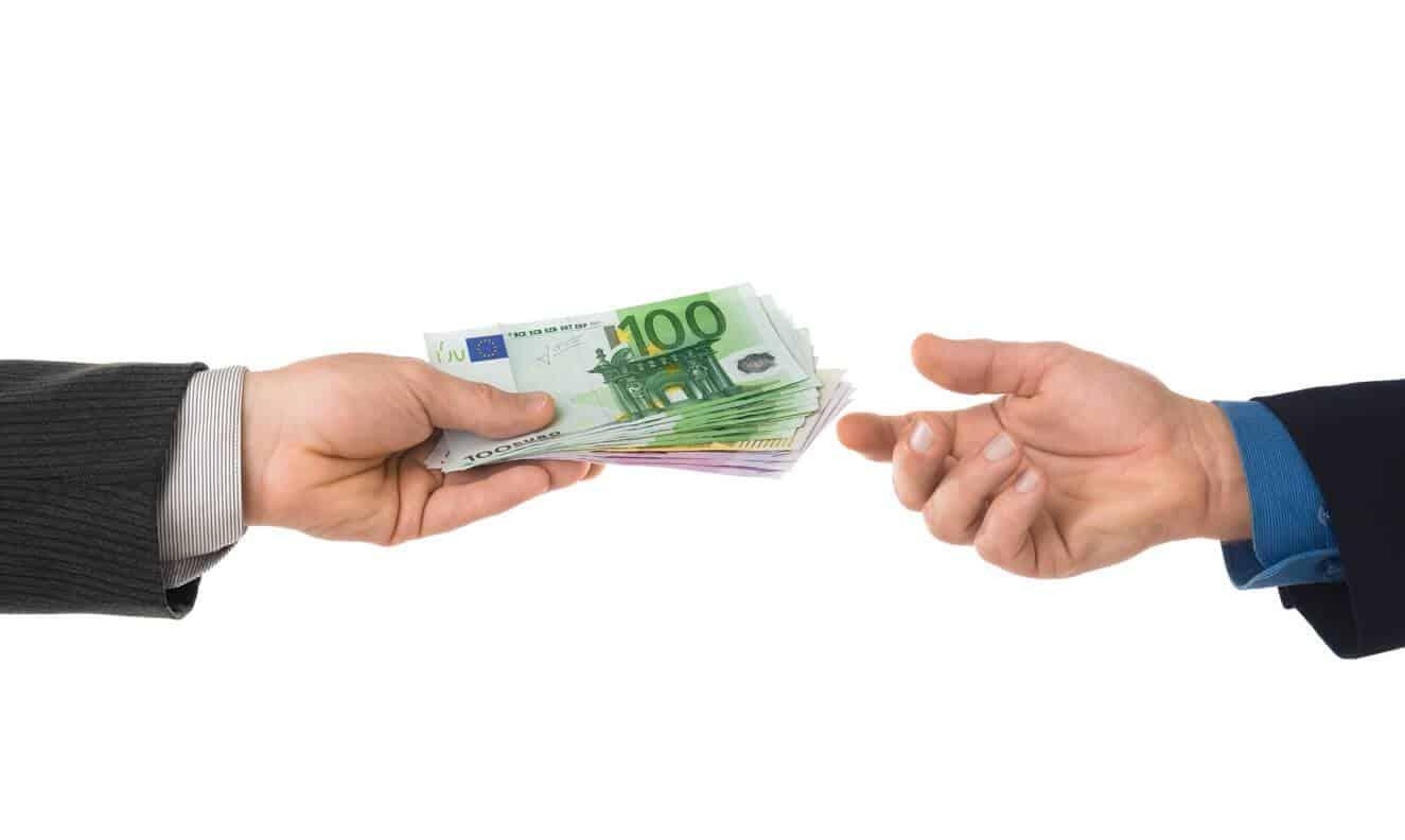 Transaction financière en ligne