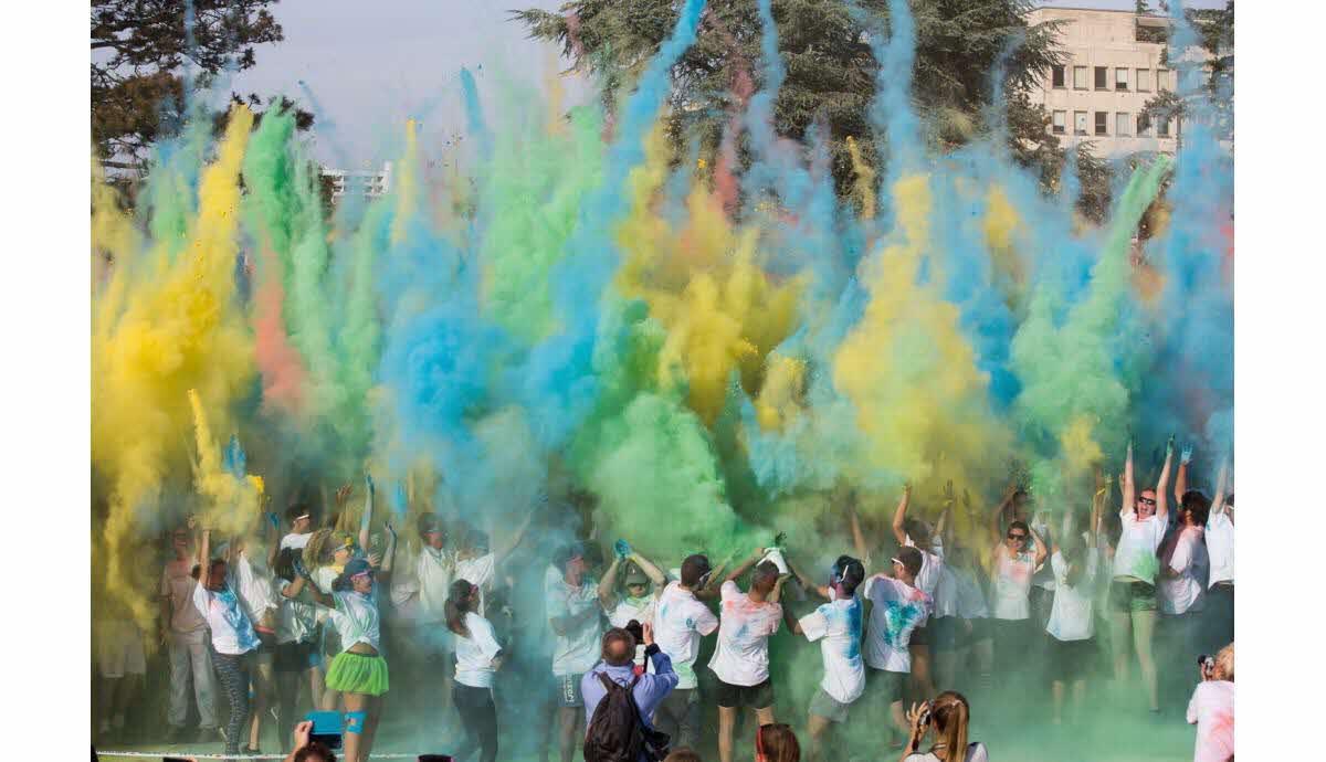Organiser une course colorée
