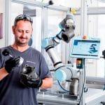 Utilisation d'un robot industriel