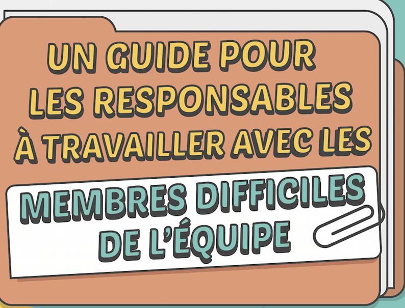 Infographie un guide pour les responsables