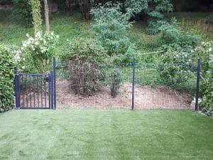 kit de clôture rigide