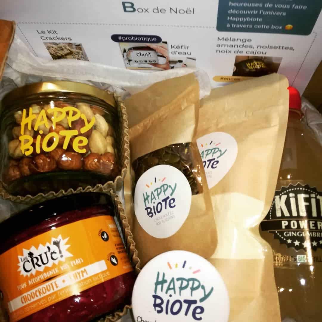 Des produits Happy Biote