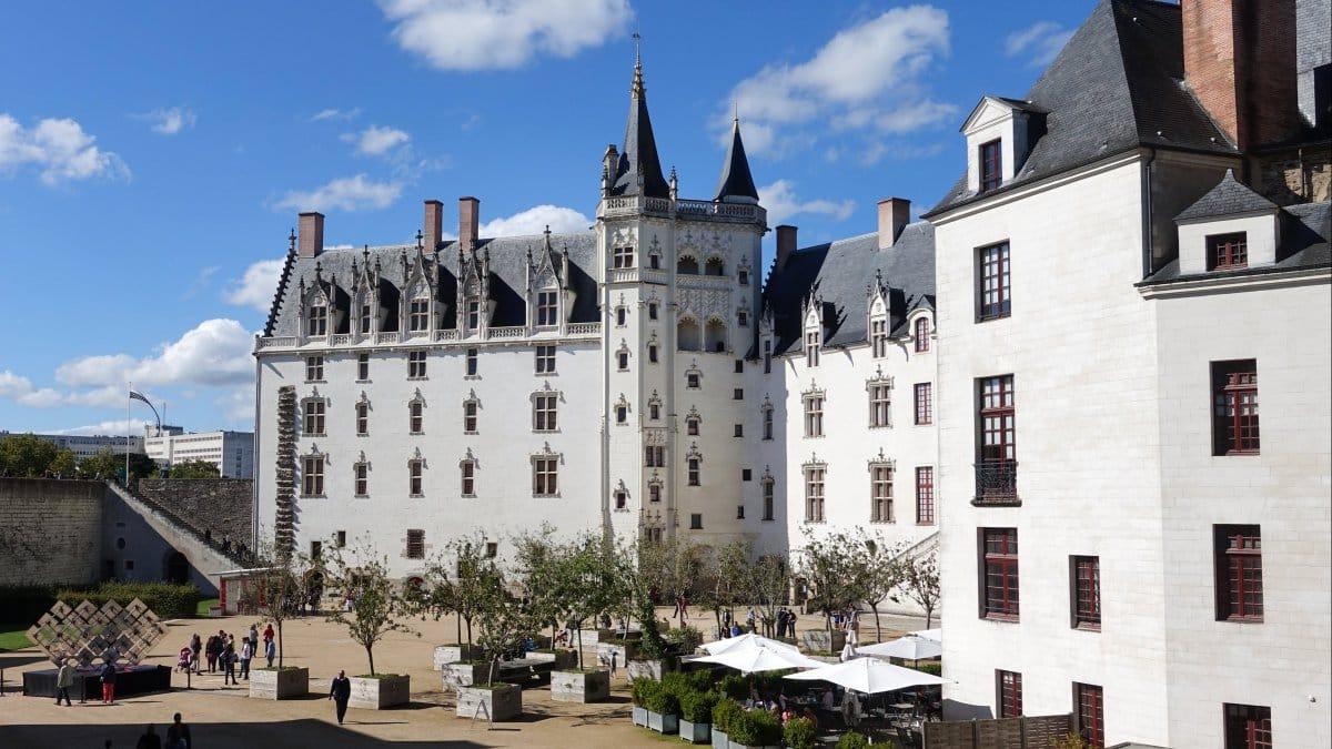 Le château des ducs à Nantes