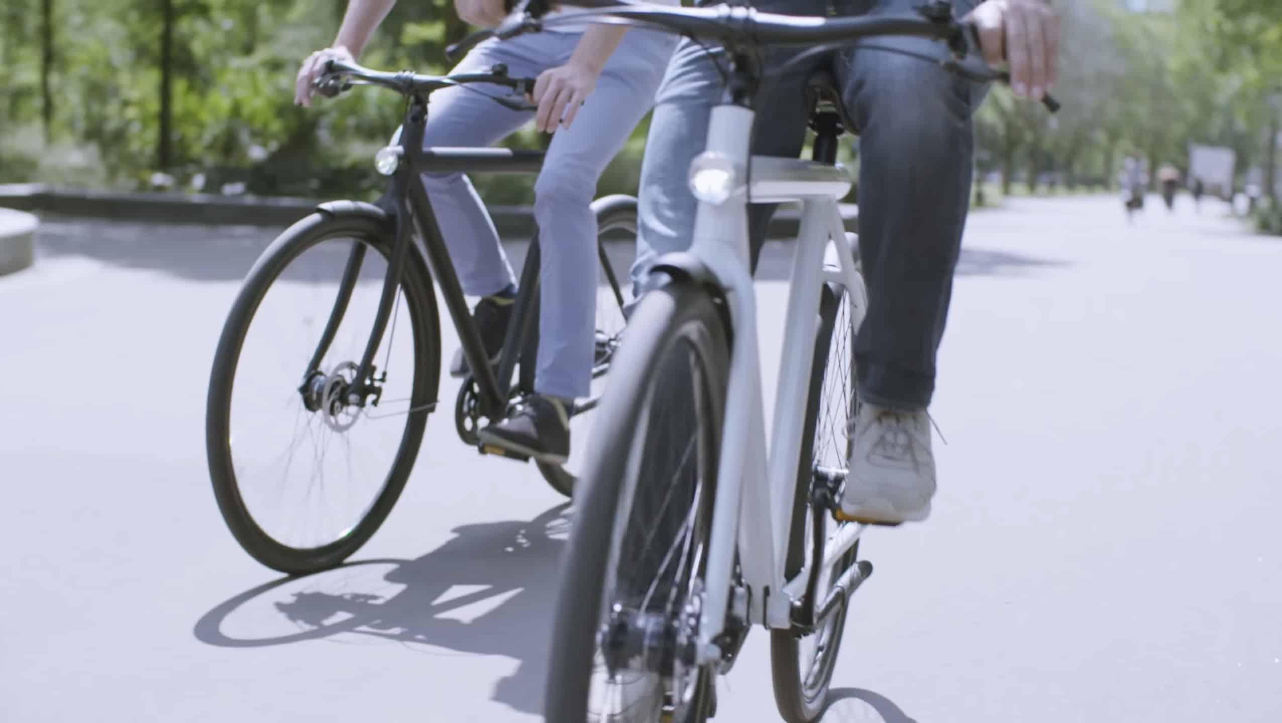 Une promenade à vélo électrique
