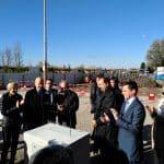 Lancement d'un chantier dans le secteur énergétique par Fayat