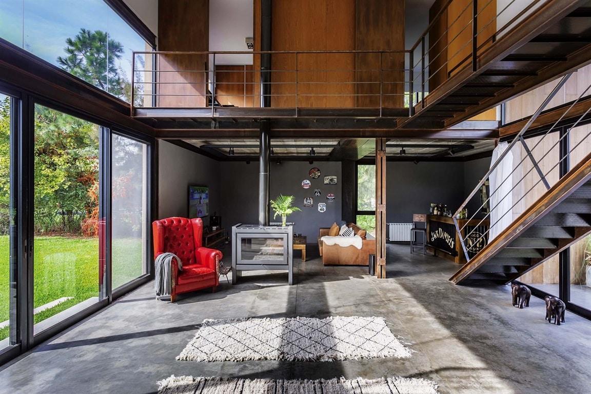 C'est quoi une maison contemporaine