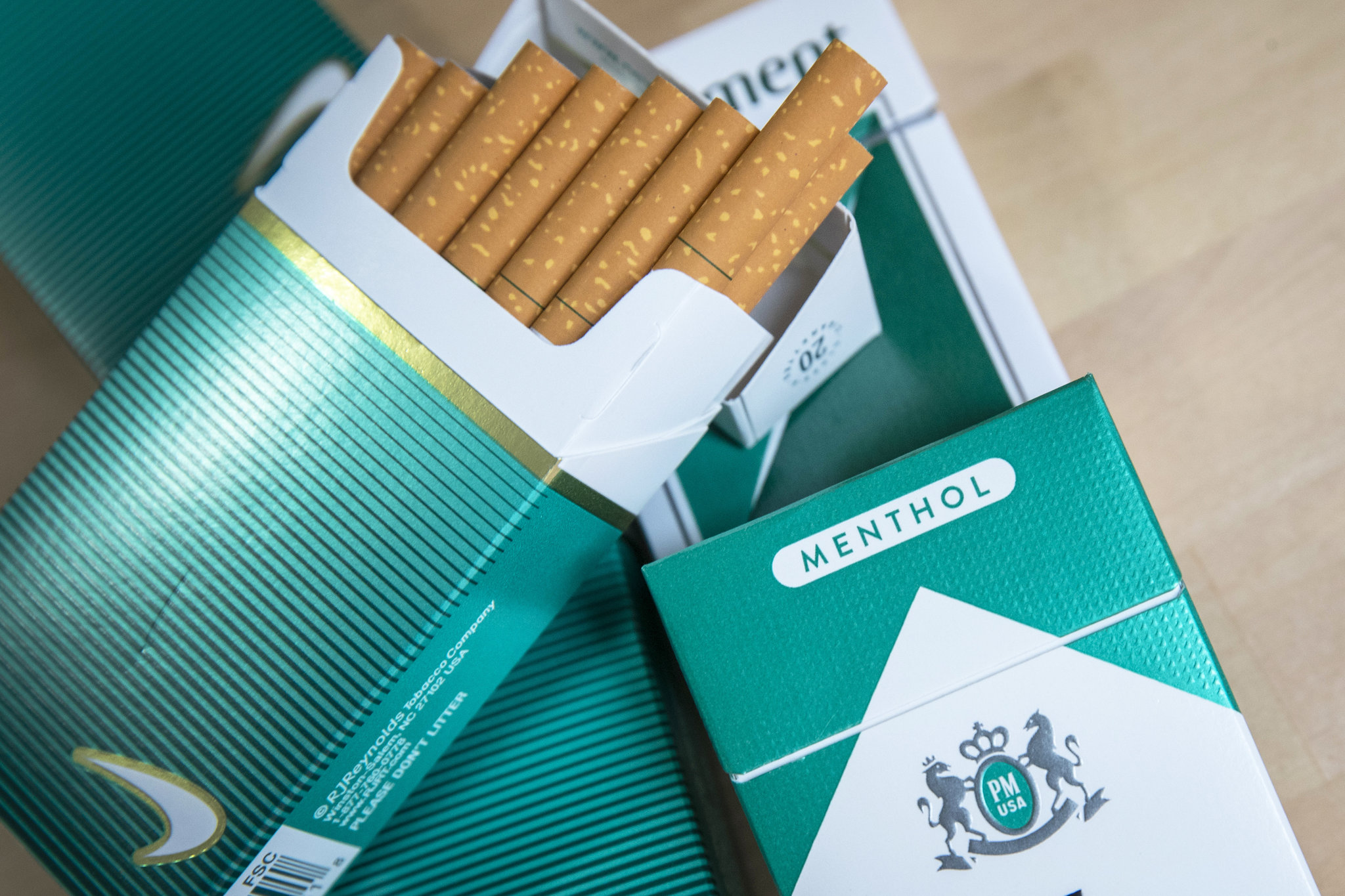 cigarettes menthol