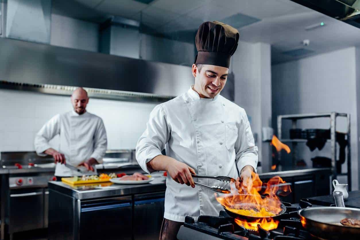 tenue cuisinier restaurant