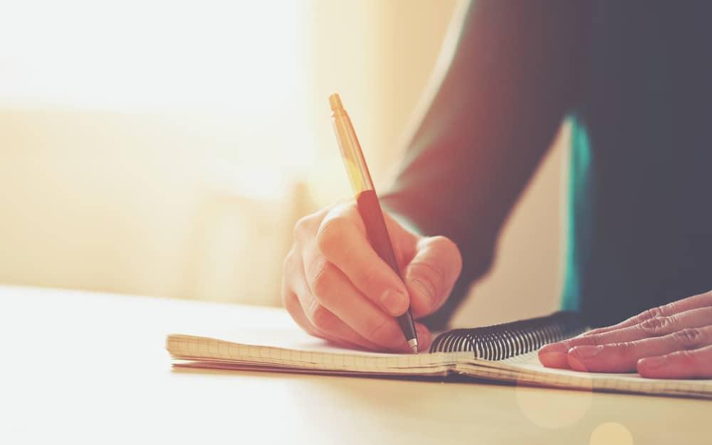écrire un texte