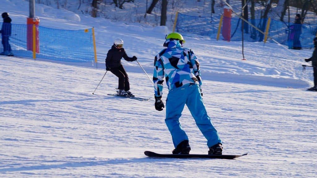 équipement sport d'hiver