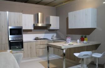 Une belle cuisine fonctionnelle et moderne