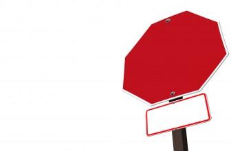 Pourquoi utiliser des panneaux de signalisation sur un chantier?