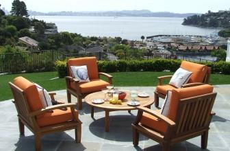 Une terrasse originale, pratique et résistante