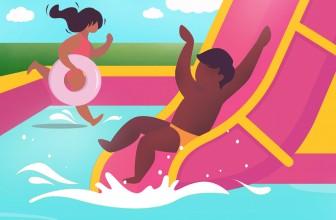 Top 6 des activités aquatiques pour enfants