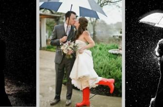 Faire un mariage quand il pleut?