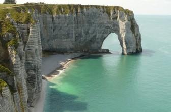 Découvrir le littoral de la Normandie au printemps