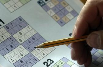 Le sudoku est bénéfique pour le cerveau