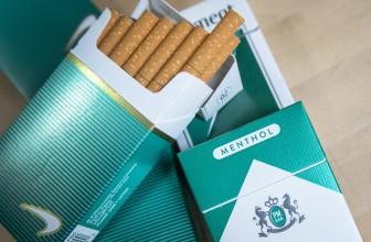 Les cigarettes menthol désormais interdites en France