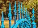 La tendance du moment : le portail façon fer forgé en aluminium