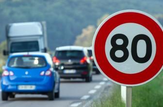 Sécurité routière : pas vraiment d'accord pour passer à 80 km/h