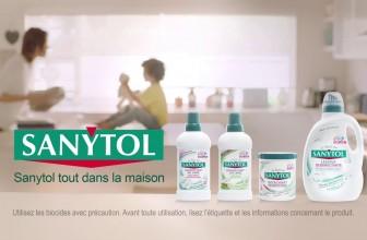 Comment utiliser Sanytol désinfectant linge ?