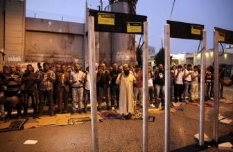 Les portiques de sécurité à Jérusalem : un scandale ?