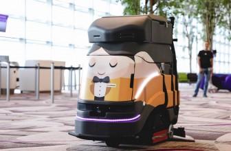 L'apparition de nouveaux robots pour le nettoyage industriel