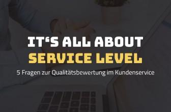 La hotline et le niveau de service