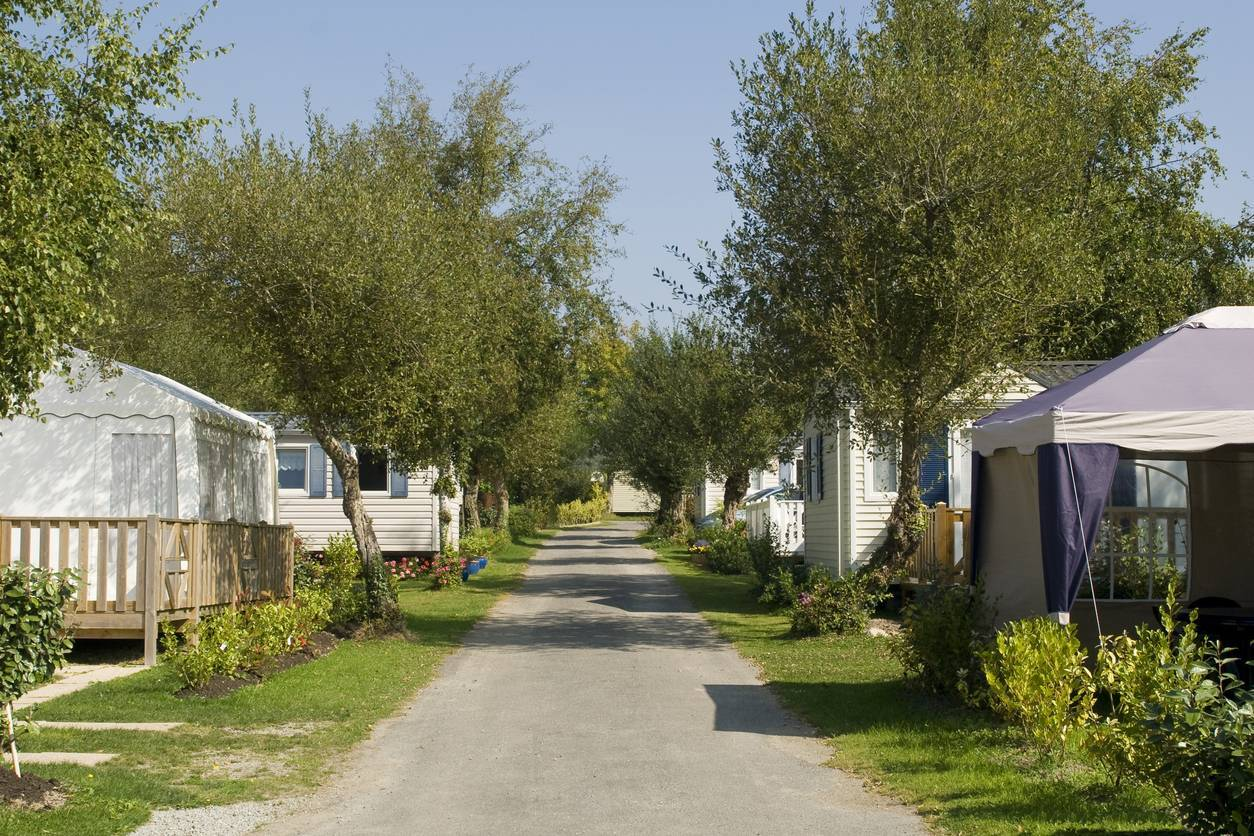 camping Morbihan mobil-home